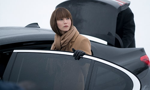 The BMW Red Sparrow Debut